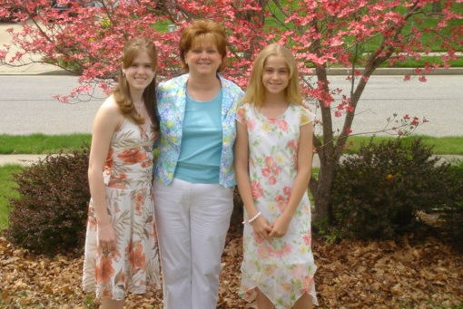 me,mom,and katie on easter-2006 (2)
